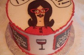 Bobs Burger Birthday Cake